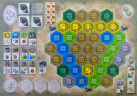 Image de Les Chateaux de Bourgogne : The 4th Expansion - Monastery Board