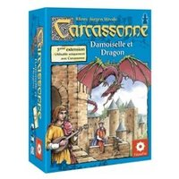 Image de Carcassonne : 03 - Princesse & Dragon