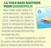 Image de Quadropolis : Tuile Base Nautique