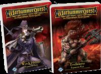 Image de Warhammer Quest : Le Jeu d'Aventure - Troll Slayer + Witch Hunter extensions