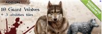 Image de conan loups geants