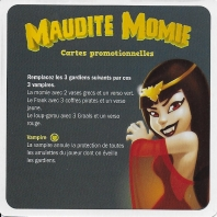 Image de Maudite Momie - Carte Promo Vampire