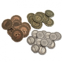 Image de 7 Wonders Duel : Pièces de monnaie (métal)