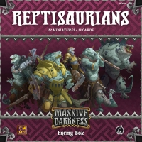 Image de Massive Darkness: Enemy Box – Reptisaurians