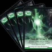 Image de Not Alone : Cartes artefact (vertes)