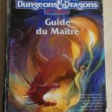 Image de advanced d&d 2nd edition. Guide du maître