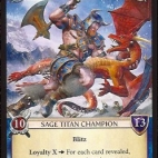 Image de Epic Card Game - Velden, Frost Titan
