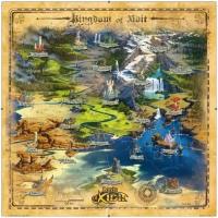 "Image de Lords of Xidit : Goodies ""Carte of Xidit"""