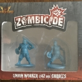 Image de Zombicide Union Worker #42 Aka Charles
