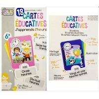 Image de 18 cartes éducatives