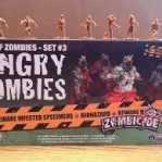 Image de Zombicide - Box Of Zombies - Set 3 Angry Zombies