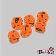 Image de zombicide : dice orange