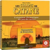 Image de Les Colons de Catane - Le jeu de cartes : Commerce & Evolution