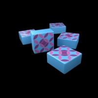 Image de Azul - Tuiles collector blanches