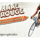 Image de Flamme rouge Goodie le grand Tour 2018