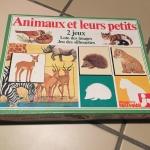 Image de Animaux et leurs petits : loto des images et jeu des silhouettes