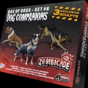 Image de Zombicide - Box of dogs - set #6 - Dog Compagnions