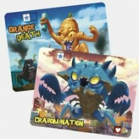 Image de King of Tokyo - Crabomination et Orange Death