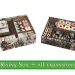 Image de Rising Sun - organisateur / insert bois pour toutes les extensions