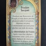 Image de La traque de l'anneau - goodies Frodon saquet