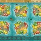 Image de Heroes of Land, Sea & Air - Playmat