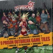 Image de Zombicide - 9 prison outbreak game tiles