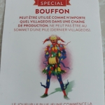 Image de Compagnons - Carte special Bouffon