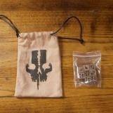 Image de The 7th Continent - Bone dice pack (Dés en Os + Sac)