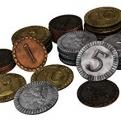 Image de Clans of Caledonia - Metal Coins - Pièces de Monnaie
