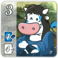Image de Splendor - Goodie Tuile Noble : Space Cow