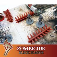 Image de Zombicide Black Plague Green Horde Barricades