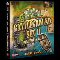 Image de Heroes of Normandie - Battleground Set II Harbor & Hills Terrain Pack