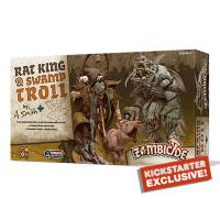 Image de Zombicide black plague - Rat King & Swamp Troll