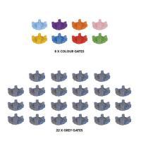 Image de Cthulhu Wars : Eldritch Pack de Portails Plastiques (7 De Couleur et 22 Gris)