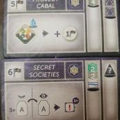 Image de Anachrony  : The Secret Cabal 2019 Promo Cards (Texte Américain)