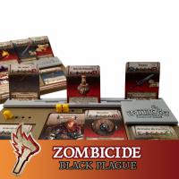 Image de Zombicide Black Plague 6x Extension Plateau Joueur