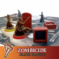 Image de Zombicide Black Plague 8x Caisses Objectif