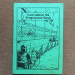 Image de RUNEQUEST - Convulsion 92 programme book