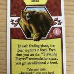 Image de Agricola - Promo L-deck BEAR Card (L089)