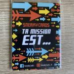Image de Sneaky Cards - Goodies 2 Cartes Surpassez-vous Et Imaginez