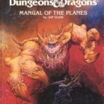 Image de Advanced Dungeons & Dragons - 1st Edition - Manual Of The Planes
