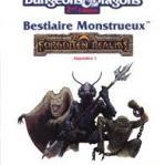 Image de Advanced Dungeons & Dragons - 2ème Edition Vf - Les Royaumes Oubliés - Bestaire Monstrueux - Appendice 1