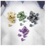 Image de Anachrony - Metal Cubes Set (80 Pcs)