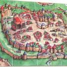 Image de Le Comte De Carcassonne - Plateau Reprenant Les 12 Tuiles De L'extension