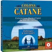 Image de Les colons de catane - Le Jeu de cartes : Politique & Intriques