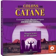 Image de Les colons de Catane - le jeu de cartes : Magiciens & Dragons
