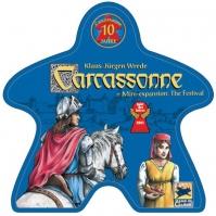 Image de carcassonne - édition 10ème anniversaire