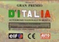 Image de formule dé - circuit Gran Premio d'Italia- circuit national de Monza